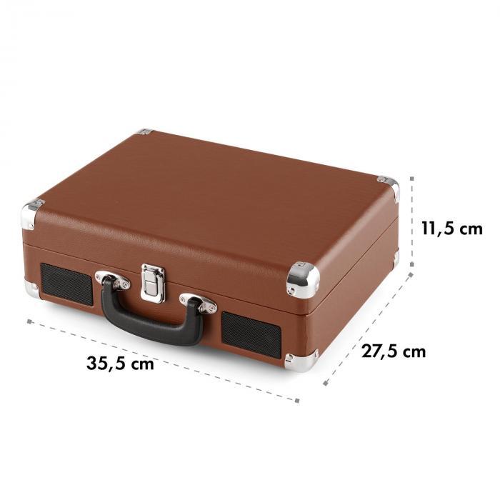 peggy sue retro plattenspieler lp usb braun braun online. Black Bedroom Furniture Sets. Home Design Ideas
