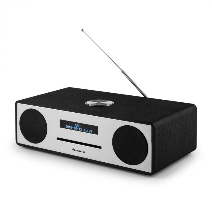 stanford dab cd radio dab bluetooth usb mp3 aux fm black black purchase online. Black Bedroom Furniture Sets. Home Design Ideas