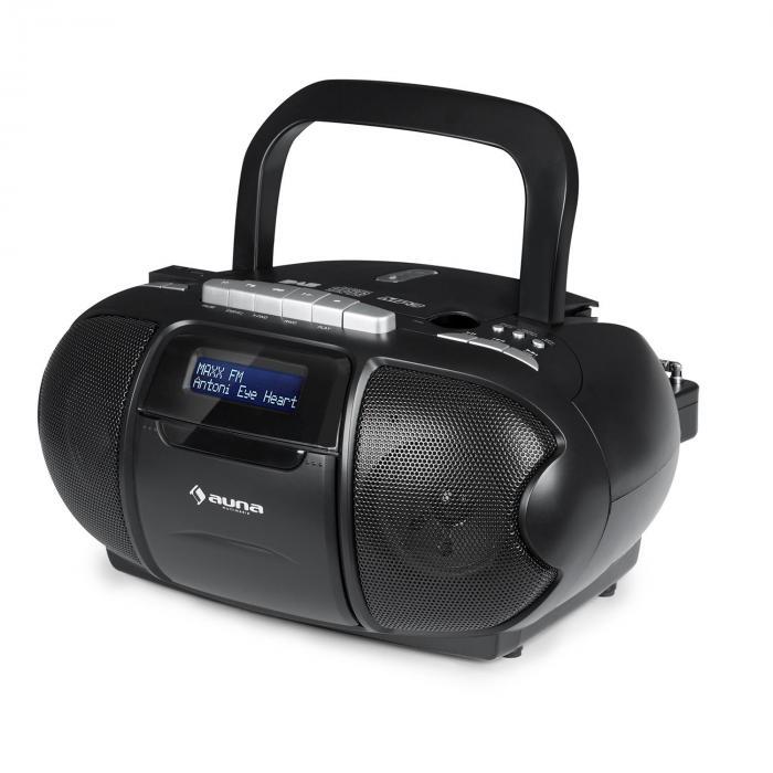 beeboy dab boombox stereo portatile musicassette usb cd. Black Bedroom Furniture Sets. Home Design Ideas
