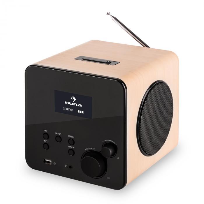 radio gaga internetradio wlan lan dab dab ukw usb aux ahorn creme online kaufen. Black Bedroom Furniture Sets. Home Design Ideas