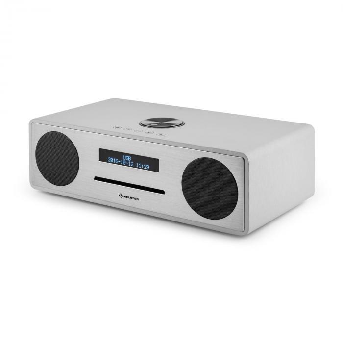stanford radio lecteur cd dab dab bluetooth usb mp3 aux fm blanc blanc. Black Bedroom Furniture Sets. Home Design Ideas