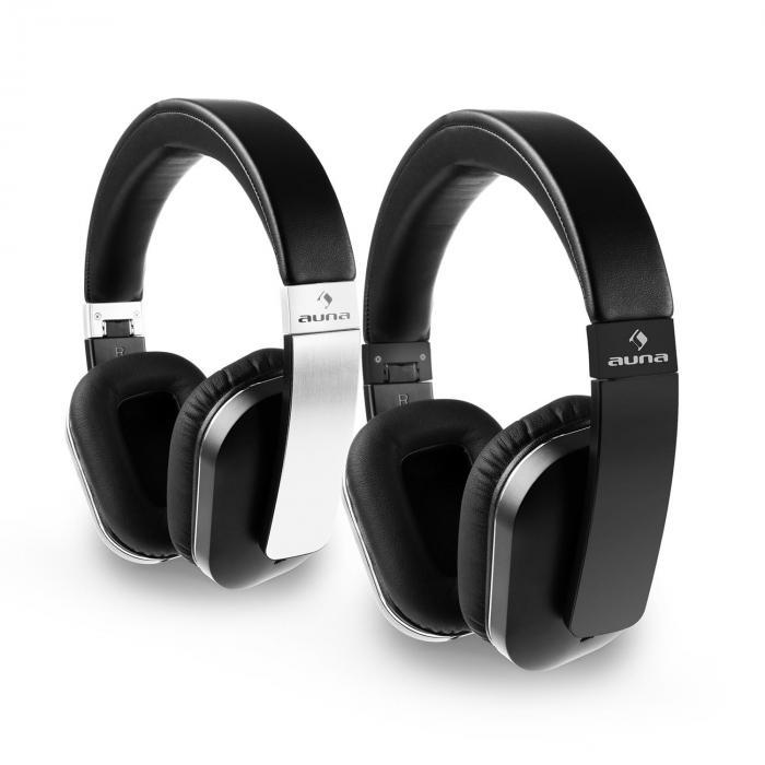 elegance casque bluetooth nfc aptx batterie mains libres simili cuir noir noir. Black Bedroom Furniture Sets. Home Design Ideas