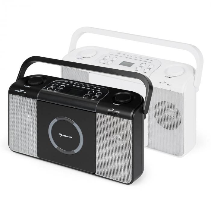 boomtown usb poste radio fm et lecteur cd portable mp3. Black Bedroom Furniture Sets. Home Design Ideas