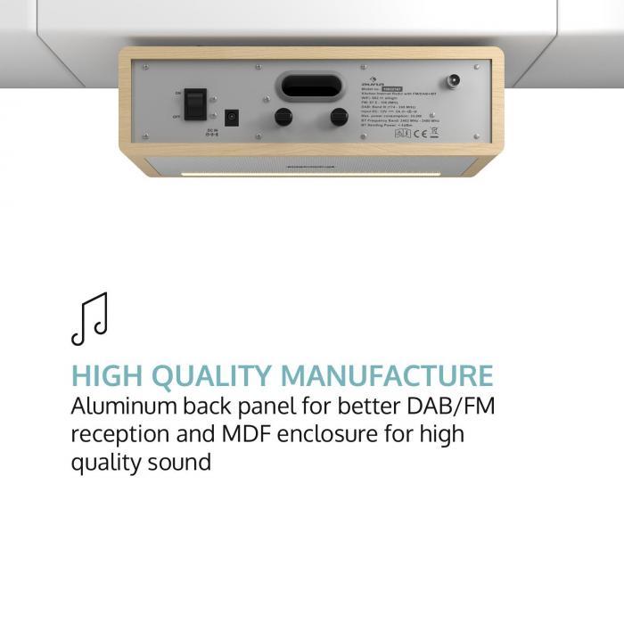 Connect soundchef radio de cuisinedab fm support de - Poste radio pour cuisine ...